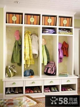 客厅玄关鞋柜设计效果图