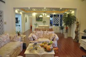 欧式田园风格客厅沙发效果图片