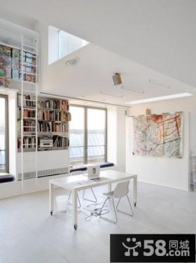 别致的复式楼书房装修效果图
