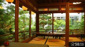 阳台日式榻榻米效果图欣赏