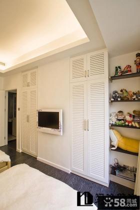 卧室电视背景墙装修效果图片欣赏