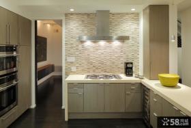 简约风格家装厨房橱柜效果图欣赏