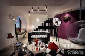 后现代客厅灯具装饰大全图片