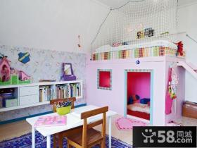 三室两厅儿童房装修效果图大全2012图片