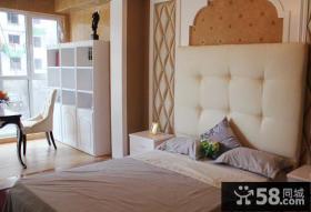 简欧式卧室装修效果图片