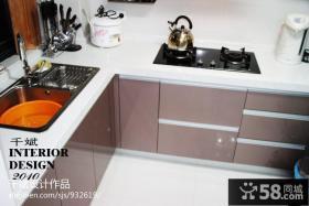现代简约风格厨房厨具图片