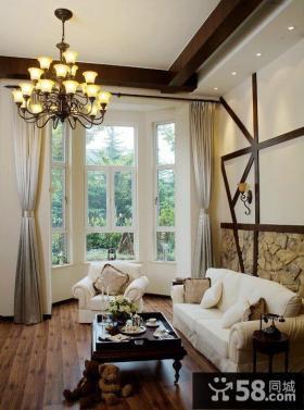 美式风格公寓室内家居图片