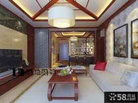 新中式客厅装饰灯装修效果图