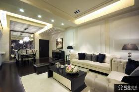 现代风格华丽装修设计三居室设计