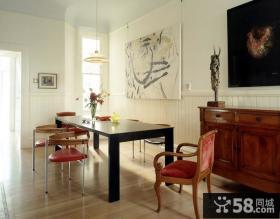 二室一厅小户型装修现代餐厅装修效果图
