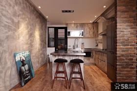 美式风格厨房创意装修图