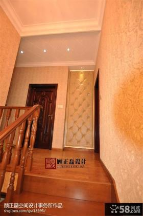 欧式家装楼梯木地板