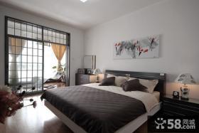 韩式简约卧室装修图片