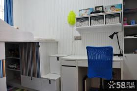 简约风格儿童房书桌图片