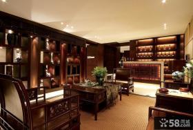 中式古典客厅装修效果图欣赏