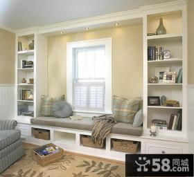 欧式卧室飘窗装修效果图 卧室飘窗设计