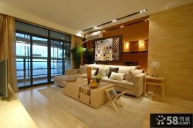100平米小户型客厅装修效果图欣赏