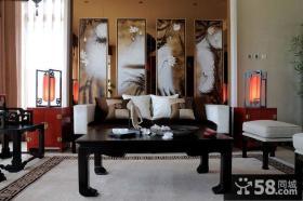 豪华古典中式客厅设计案例
