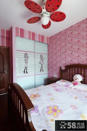 家装儿童卧室衣柜图片大全