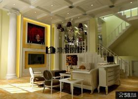 复式客厅装修效果图大全2013图欣赏
