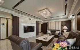欧式风格别墅室内家居装饰效果图