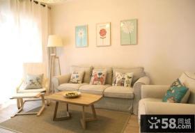 美式风格家庭设计客厅图片大全欣赏