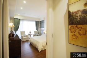美式风格卧室窗户效果图欣赏设计图