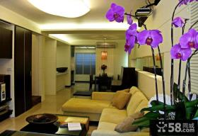 温馨现代风格家居装修客厅设计