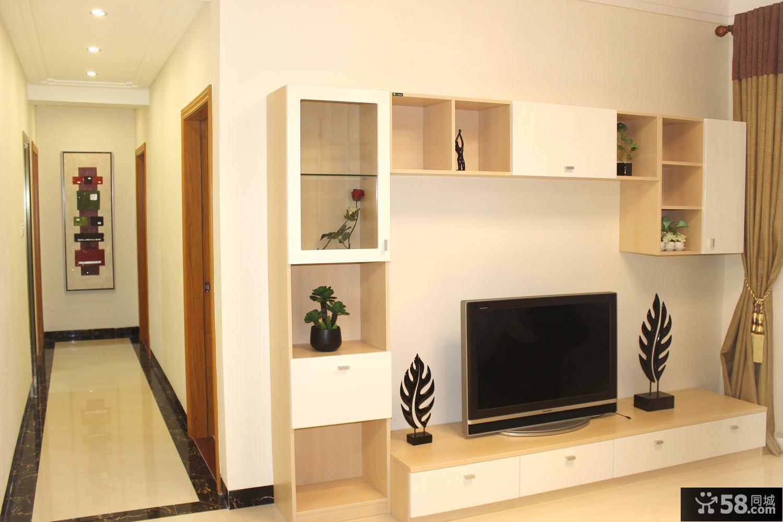 时尚简约电视背景墙装修设计