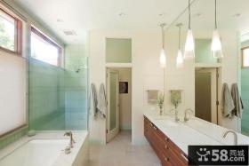 美式现代风格别墅卫生间图片