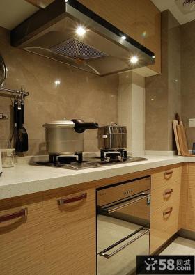现代家装厨房橱柜台面装修