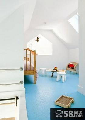 超小型阁楼卧室设计效果图
