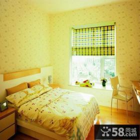 小户型卧室飘窗设计效果图