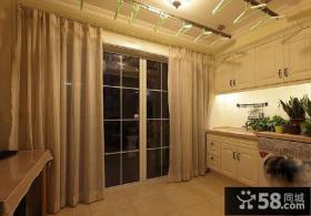 家居阳台窗帘设计