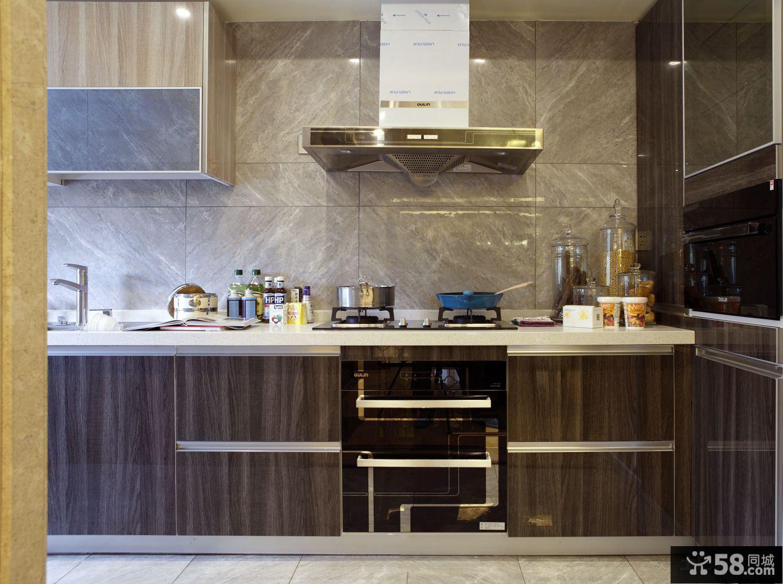 中式田园风格厨房装修图片欣赏