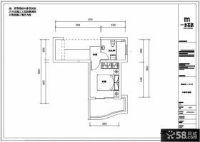 复式房子二楼户型图