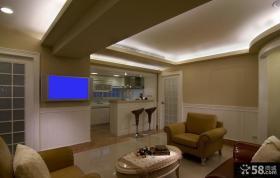 美式风格110平米公寓装修设计效果图