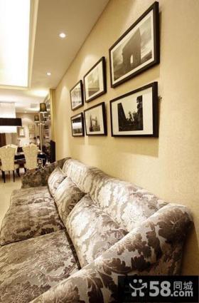 家装客厅装饰画效果图