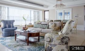 欧式复古风格别墅室内装修效果图