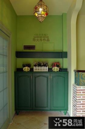 田园风格复式楼客厅装修效果图-导火牛设计