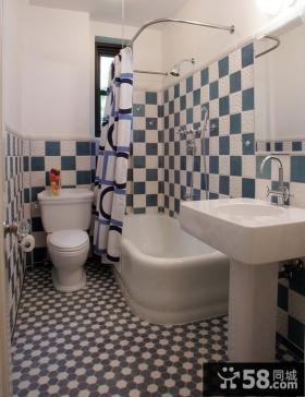 卫生间瓷砖装修效果图 7平米卫生间装修效果图