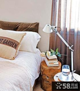 现代卧室床头灯具图片