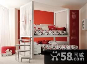 青春动感的儿童房装修效果图大全2014图片