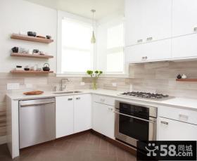 78平米小户型现代简欧风格厨房装修效果图