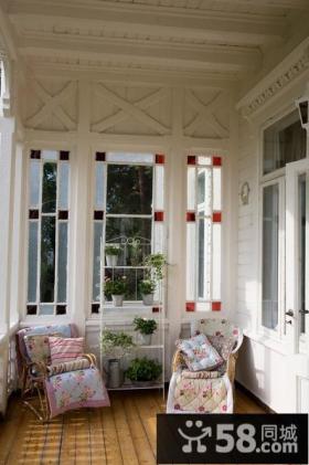 优质欧式小阳台装修效果图片欣赏