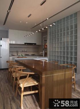 现代风格大户型餐厅装修效果图