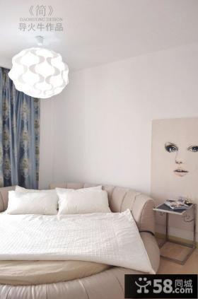 90平米小户型简约时尚的卧室装修效果图