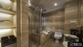 新古典风格别墅室内卫生间效果图