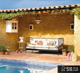 家庭精装修设计阳台图片