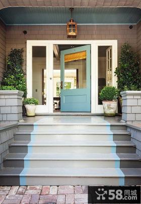 别墅门口楼梯设计